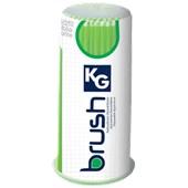 Aplicador descartável extra fino - KG Brush Verde