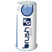 Aplicador descartável fino - KG Brush Azul