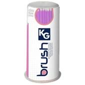Aplicador descartável fino - KG Brush Rosa
