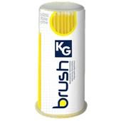 Aplicador descartável regular - KG Brush Amarelo