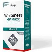 Clareador Mini Kit Whiteness HP MAXX com Top Dam
