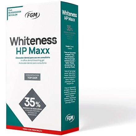 Clareador Whiteness HP MAXX com Top Dam