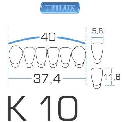 Dente Trilux Anterior Inferior K10