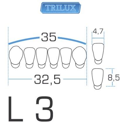 Dente Trilux Anterior Inferior L3